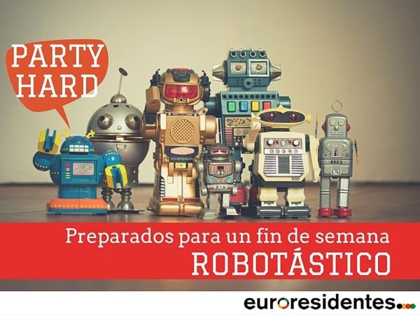 fiesta robots fin de semana