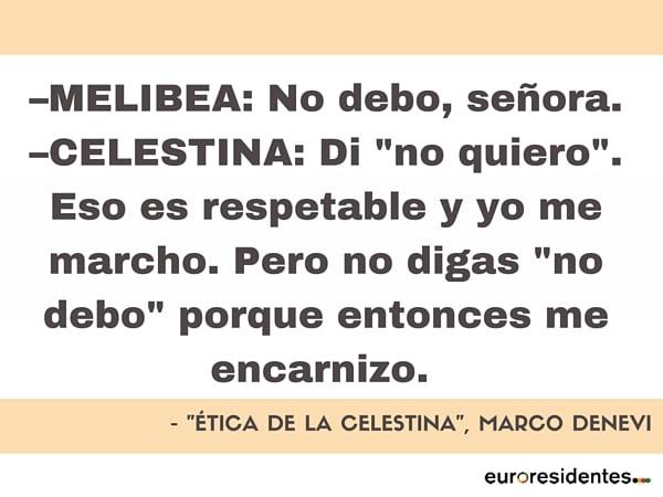 Marco Denevi Ética de la Celestina