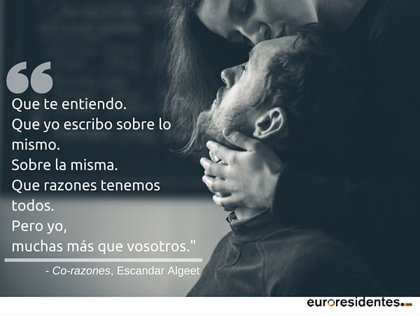 poema Escandar Algeet amor Co-razones