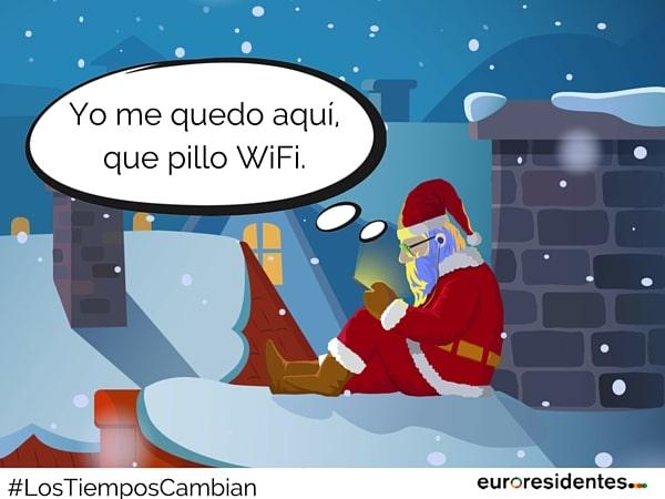 Santa tecnologías renovarse wifi