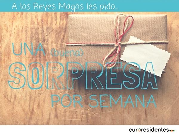 Reyes Magos pedidos carta