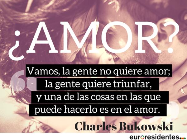 Charles Bukowski amor
