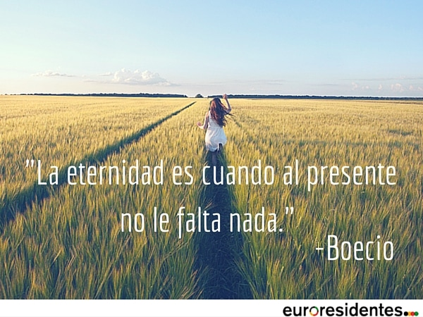 La eternidad por Boecio