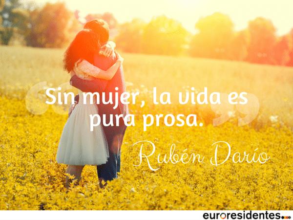 Rubén Darío mujer poesía prosa