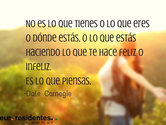 Frases de felicidad, Dale Carnegie