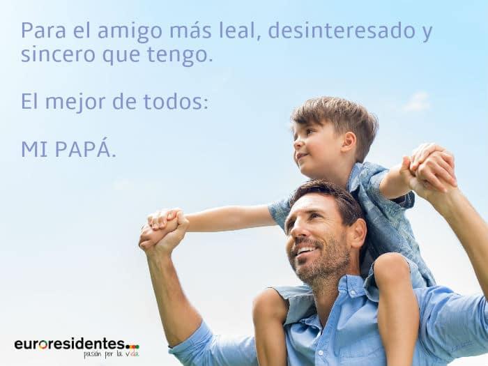 Frases Para Felicitar En El Día Del Padre