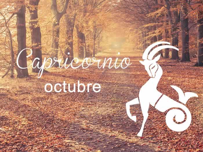 Horóscopo Capricornio Octubre 2016
