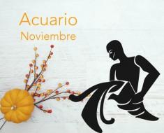 Horóscopo Acuario Noviembre 2016