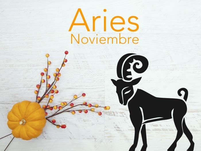 Horóscopo Aries Noviembre 2016