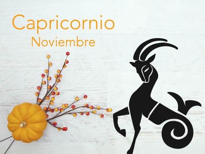Horóscopo Capricornio Noviembre 2016