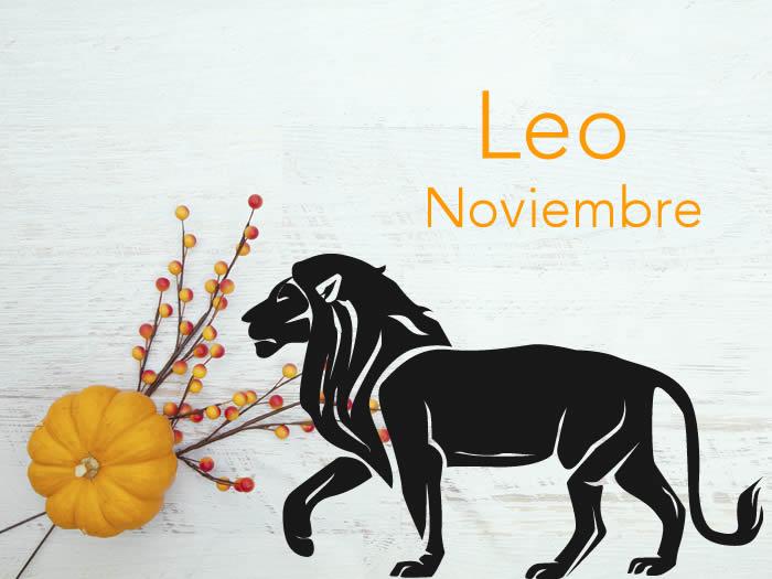 Horóscopo Leo noviembre 2016