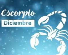 Horóscopo Escorpio Diciembre 2016