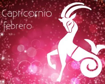 Horóscopo Capricornio Febrero 2021