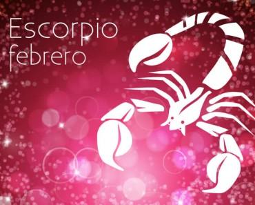 Horóscopo Escorpio Febrero 2021