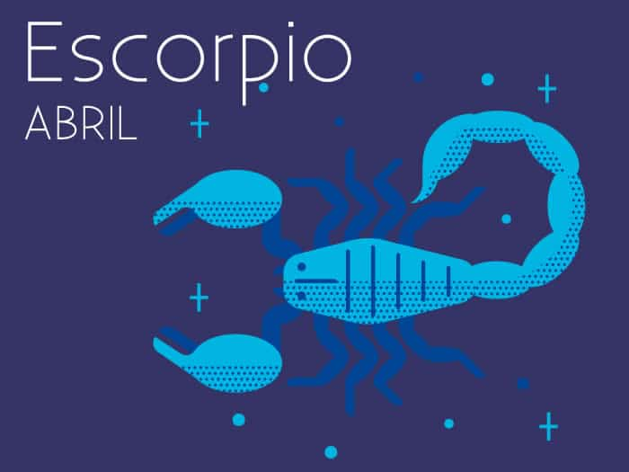 Horóscopo Escorpio Abril 2017