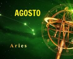 Horóscopo Aries Agosto 2021