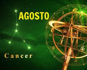 Horóscopo Cáncer Agosto 2017