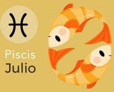 Horóscopo Piscis Julio 2017