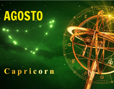 Horóscopo Capricornio Agosto 2017