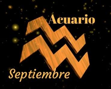 Horóscopo Acuario Septiembre 2017
