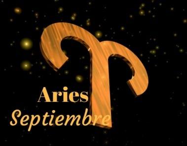 Horóscopo Aries Septiembre 2017