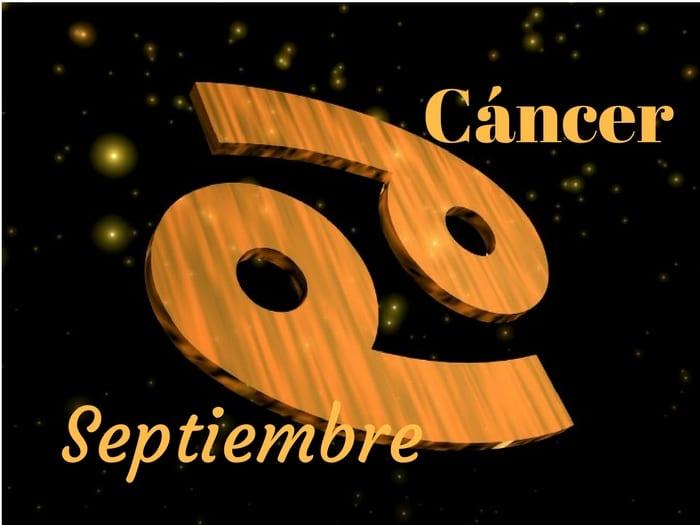 Horóscopo Cáncer Septiembre 2017 Horóscopo Mensual