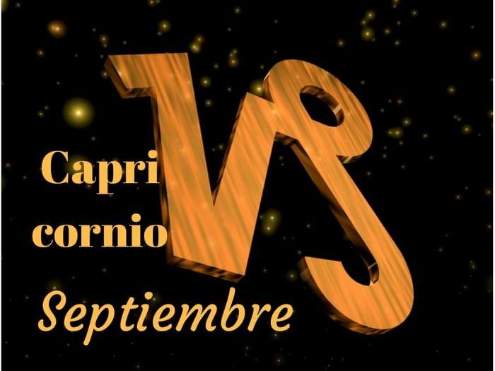 Horóscopo-Capricornio-Septiembre-2017