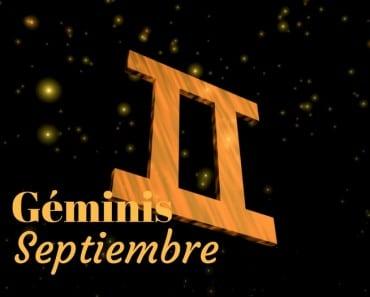 Horóscopo Géminis Septiembre 2017