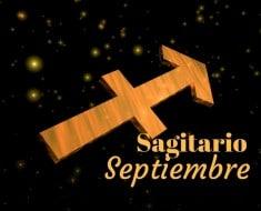 Horóscopo Sagitario Septiembre 2017