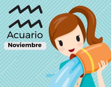 Horóscopo Acuario Noviembre 2017