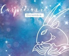 Horóscopo Diciembre Capricornio