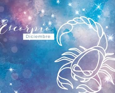 Horóscopo Diciembre Escorpio