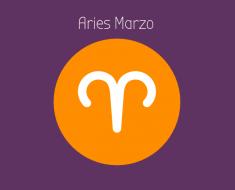 Horóscopo Aries Marzo 2018