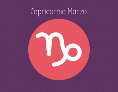 Horóscopo Capricornio Marzo 2018