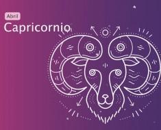 Horóscopo Capricornio Abril 2019