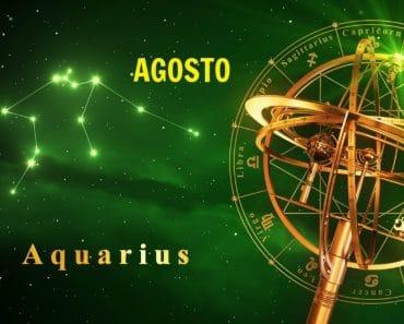 Horóscopo Acuario Agosto 2021