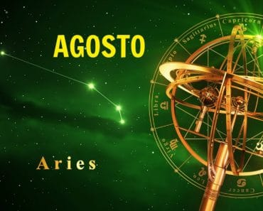 Horóscopo Aries Agosto 2018