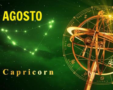 Horóscopo Capricornio Agosto 2021