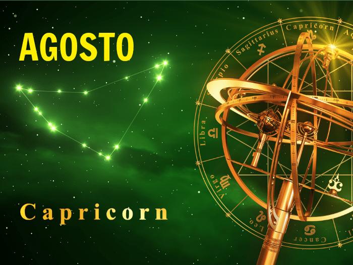 Horóscopo Capricornio Agosto 2018