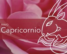Horóscopo Capricornio Mayo 2018