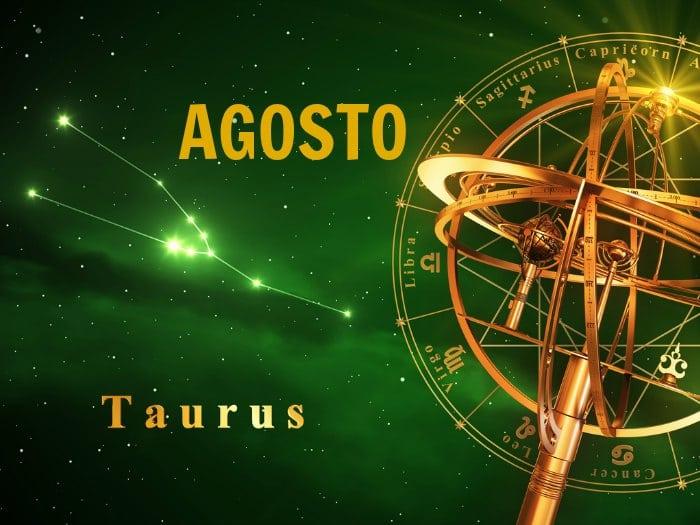 Horóscopo Tauro Agosto 2018