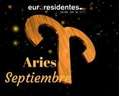 Horóscopo Aries Septiembre 2018