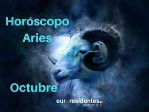 Horóscopo de octubre Aries