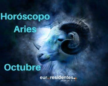Horóscopo Aries Octubre 2018