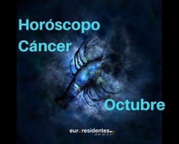 Horóscopo Cáncer Octubre 2020