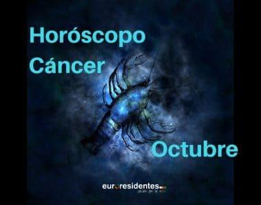 Horóscopo Cáncer Octubre 2018