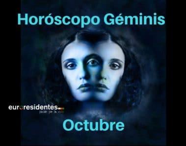 Horóscopo Géminis Octubre 2018