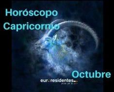 Horóscopo Capricornio Octubre 2018