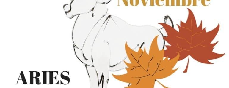 Horóscopo Aries Noviembre 2021