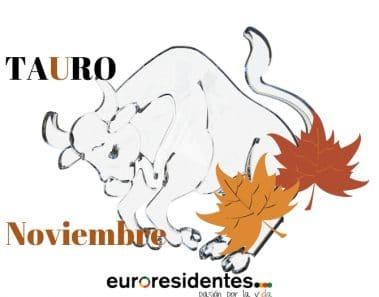 Horóscopo Tauro Noviembre2019